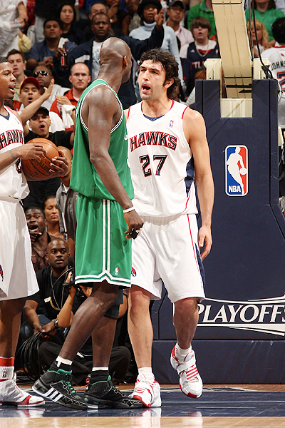 "The Celtics and Hawks renew their ""rivalry"" tonight in Atlanta."