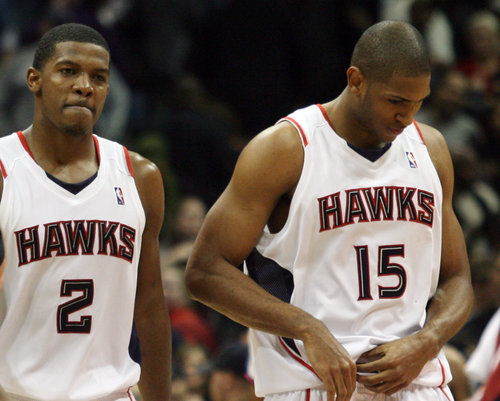 Joe Johnson and Al Horford will be traveling to Dallas next month.